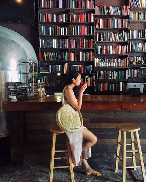BREW Urban Cafe is one of Fort Lauderdale's most underrated book sanctuaries. Bibliophiles, unite. - MAIDA MONTE