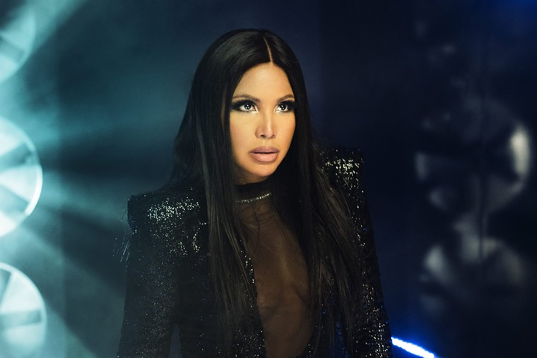 Toni Braxton makes Hollywood swoon on Tuesday. - COURTESY OF THE ARTIST