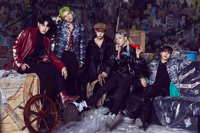 South Korean K-pop sensation A.C.E is set to play Revolution Live in Fort Lauderdale on Wednesday. - PHOTO COURTESY OF MYMUSICTASTE
