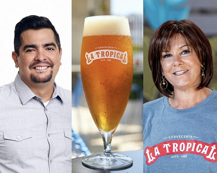 This month Johnny Sánchez chef/owner Aarón Sánchez will join Miami Chef Cindy Hutson for the first beer dinner event hosted by the South Beach Wine & Food Festival. - PHOTO COURTESY OF BRUSTMAN CARRINO PUBLIC RELATIONS