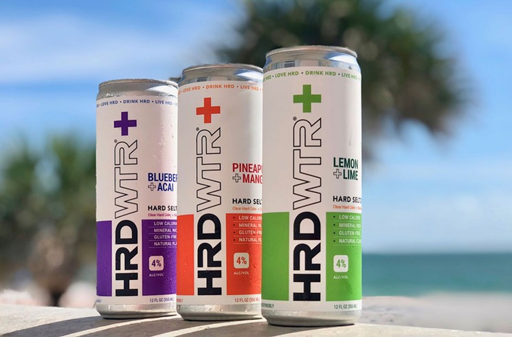 Hrd Wtr+ from M.I.A. Beer Company. - PHOTO COURTESY OF M.I.A. BEER COMPANY