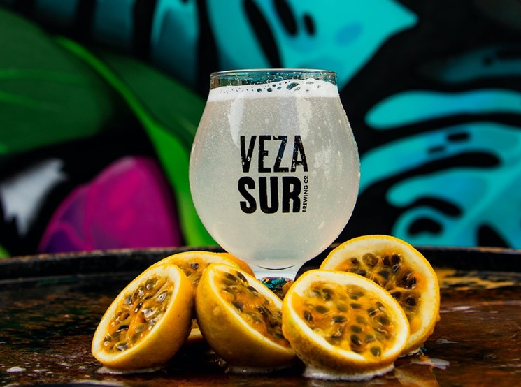 Veza Sur's line of hard seltzer inspires Latin American-themed flavors. - PHOTO BY NATY PASCUAL FOR VEZA SUR BREWING