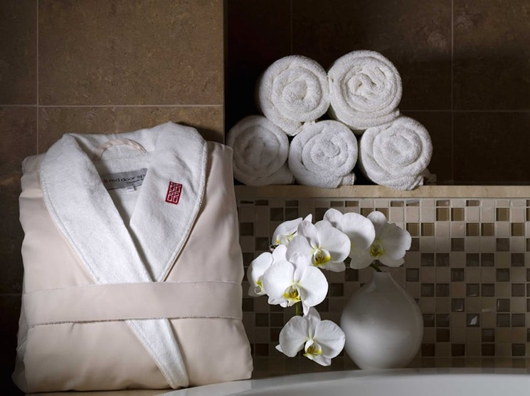 The Red Door Salon & Spa - COURTESY OF THE GALLERIA IN FORT LAUDERDALE
