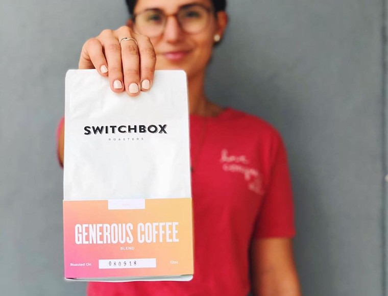 COURTESY OF SWITCHBOX COFFEE ROASTERS